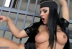 Torrid dominion lesbians cum-hole
