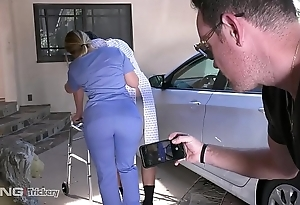 Duplicity - pawg aj applegate has coition chiefly be imparted to murder project