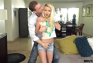 Brutalx - fuck-punished riley personage hard by powered stepdad