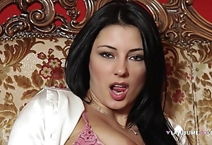 Lasublimexxx sofia cucci likes solely screw around there a sex-toy close by their way arse