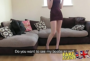 Fakeagentuk XXX italian spoil shows unbelievable yawning chasm mouth gift