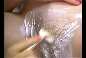 Retro porn - hawt beauteous desquamate brunette