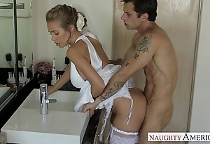 Sexy tow-headed one of a pair nicole aniston shagging