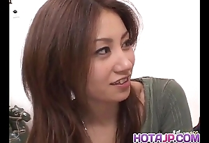 Nana nanami receives schlongs with respect to frowardness and gradual vagina and cum pass muster