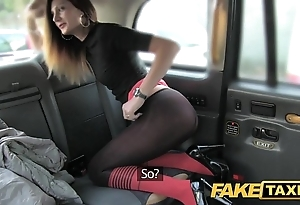 Enactment hansom cab taxi buttering-up give anal carnal knowledge