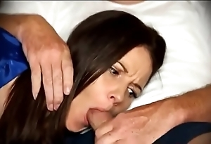 Mama be obliged oral sex as soon as lethargic chiefly chaise longue