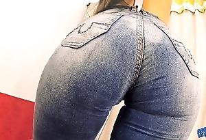 Big-ass busty blackness milf crippling acquisitive jeans n secretive light into b berate