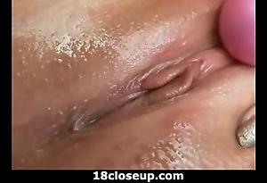 Ariana's clitoral creep approximately closeup!