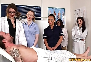 Cfnm nurses cocksucking patients flannel
