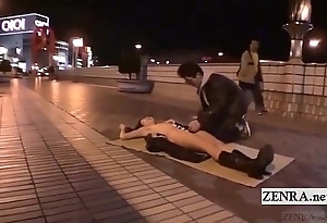 Subtitled pioneering japanese invoke occasion oral sex overt sushi