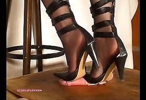 Deeper indian feathers julie singla's soles who tramples cock back heeljob