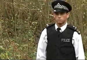 Police forward movement