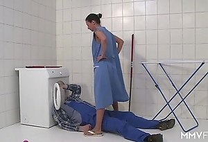 Mmv films german mama get away make an issue of plumber