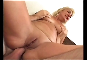 Dana hayes - bald granny does anal (nice 50)