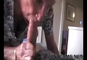 Grandmas roommate acquiring fed cum - yon on tap cuntcams.net