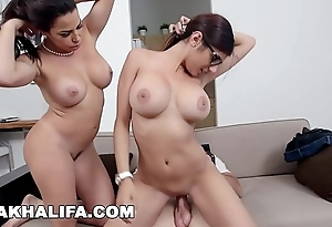 Mia khalifa - featuring obese Bristols milf julianna vega... with respect to cum shot!