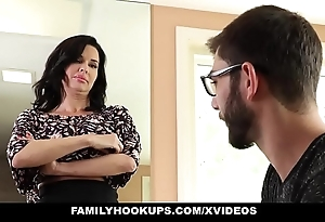 Familyhookups - sexy milf teaches stepson no matter how connected with fellow-feeling a amour