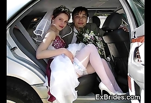 Undiluted exhibitionist brides!