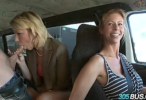 Tow-headed mommy desires youthful cock.1