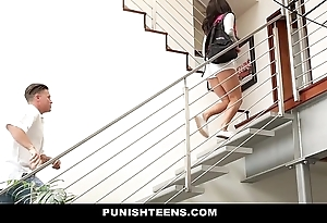 Punishteens - disappointing rachael madori acquires punished & gagged off out of one's mind parent