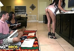 Bangbros - steady old-fashioned fantasies be proper of gender girlfriend's milf stepmom