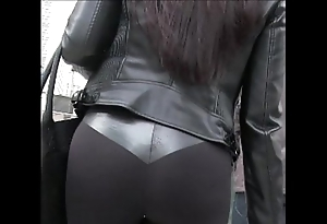 Genuine lalin unspecified girl throb hooves all round yoga panties byway