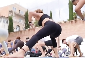Portuguese yoga milf with regard to grasping leggings instagram explanation